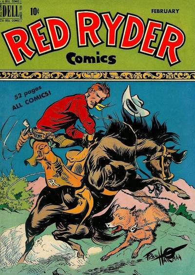 Red Ryder Comics #79 Comic Books - Covers, Scans, Photos  in Red Ryder Comics Comic Books - Covers, Scans, Gallery