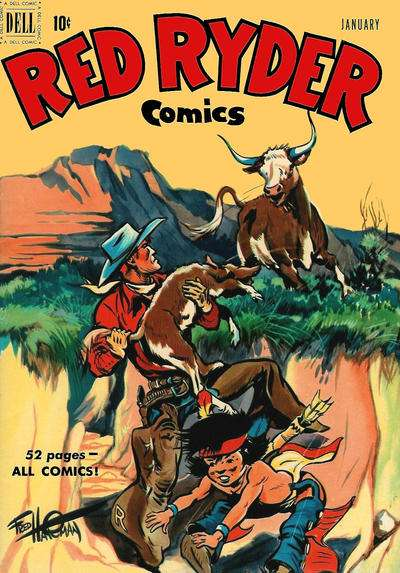 Red Ryder Comics #90 Comic Books - Covers, Scans, Photos  in Red Ryder Comics Comic Books - Covers, Scans, Gallery