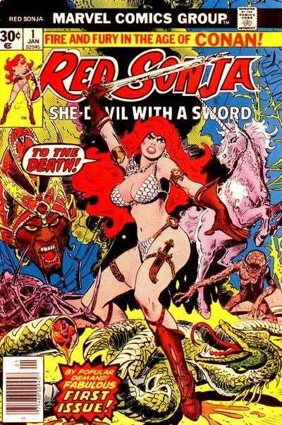 Red Sonja #1 Comic Books - Covers, Scans, Photos  in Red Sonja Comic Books - Covers, Scans, Gallery