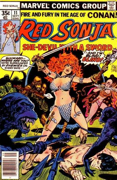 Red Sonja #11 comic books - cover scans photos Red Sonja #11 comic books - covers, picture gallery