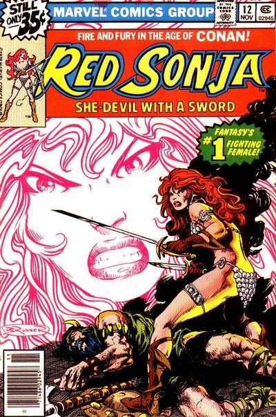 Red Sonja #12 comic books - cover scans photos Red Sonja #12 comic books - covers, picture gallery