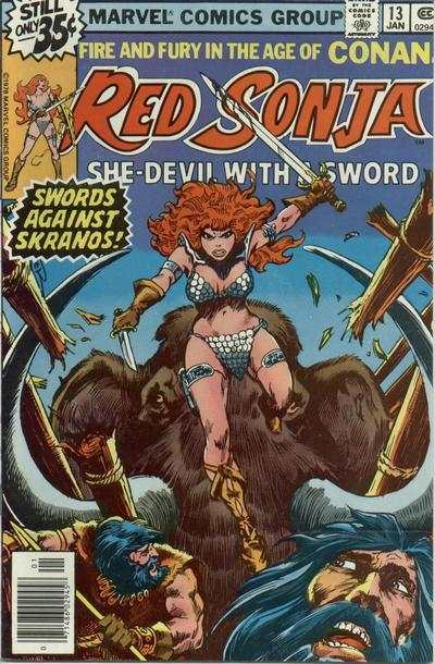 Red Sonja #13 comic books - cover scans photos Red Sonja #13 comic books - covers, picture gallery