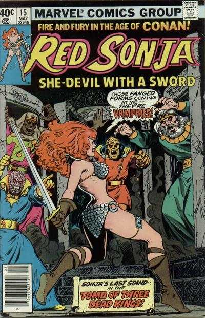 Red Sonja #15 comic books - cover scans photos Red Sonja #15 comic books - covers, picture gallery