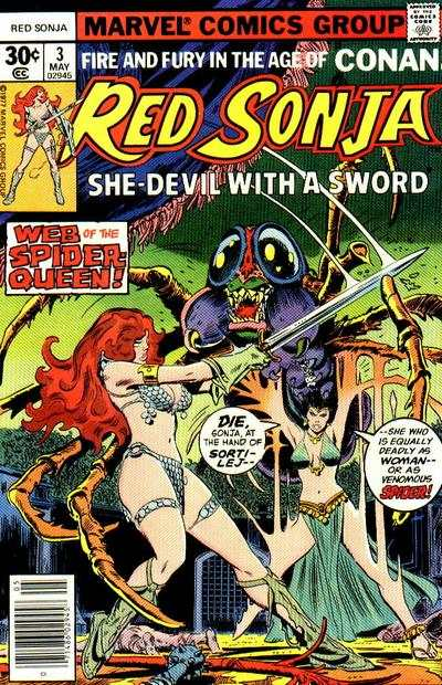 Red Sonja #3 Comic Books - Covers, Scans, Photos  in Red Sonja Comic Books - Covers, Scans, Gallery