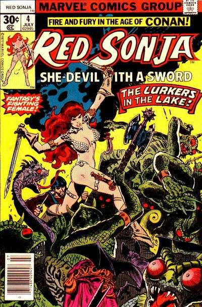 Red Sonja #4 Comic Books - Covers, Scans, Photos  in Red Sonja Comic Books - Covers, Scans, Gallery
