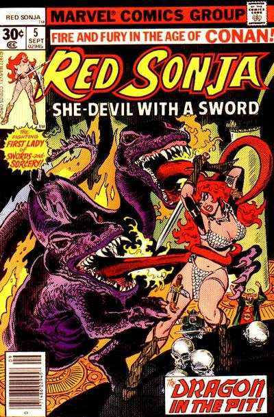 Red Sonja #5 comic books - cover scans photos Red Sonja #5 comic books - covers, picture gallery