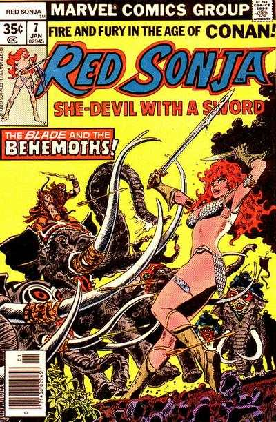 Red Sonja #7 Comic Books - Covers, Scans, Photos  in Red Sonja Comic Books - Covers, Scans, Gallery