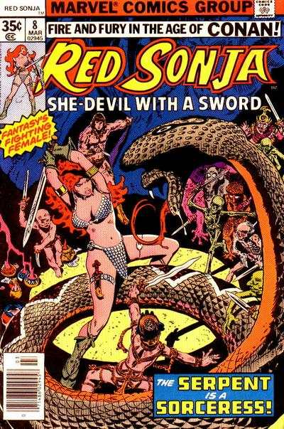 Red Sonja #8 Comic Books - Covers, Scans, Photos  in Red Sonja Comic Books - Covers, Scans, Gallery