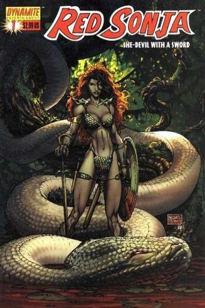 Red Sonja Comic Books. Red Sonja Comics.