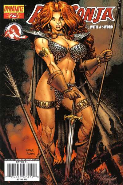 Red Sonja #25 Comic Books - Covers, Scans, Photos  in Red Sonja Comic Books - Covers, Scans, Gallery