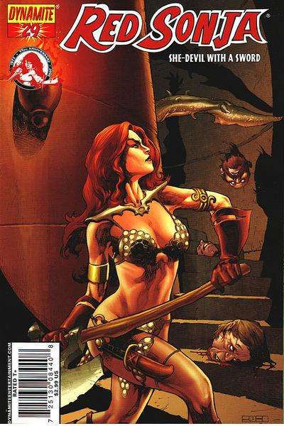Red Sonja #29 Comic Books - Covers, Scans, Photos  in Red Sonja Comic Books - Covers, Scans, Gallery