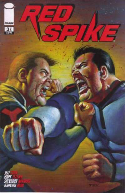 Red Spike #3 comic books - cover scans photos Red Spike #3 comic books - covers, picture gallery