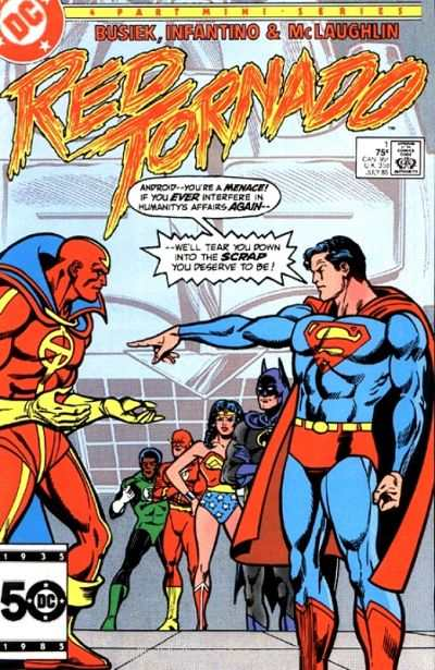 Red Tornado comic books