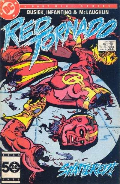 Red Tornado #2 Comic Books - Covers, Scans, Photos  in Red Tornado Comic Books - Covers, Scans, Gallery