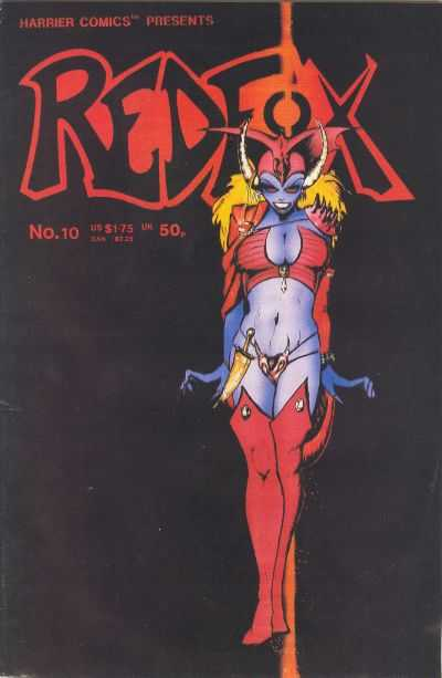 Redfox #10 comic books for sale