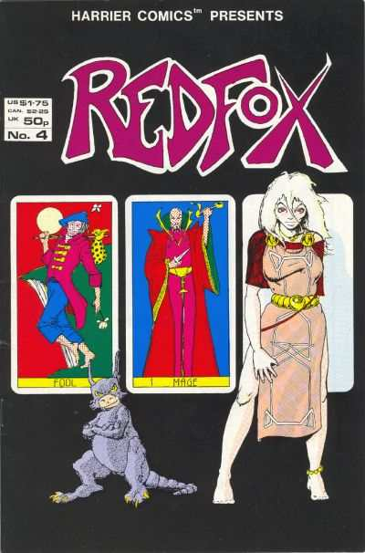 Redfox #4 comic books - cover scans photos Redfox #4 comic books - covers, picture gallery