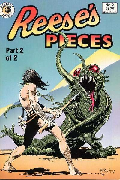 Reese's Pieces #2 Comic Books - Covers, Scans, Photos  in Reese's Pieces Comic Books - Covers, Scans, Gallery