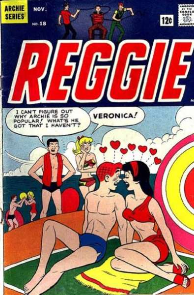 Reggie #18 comic books - cover scans photos Reggie #18 comic books - covers, picture gallery