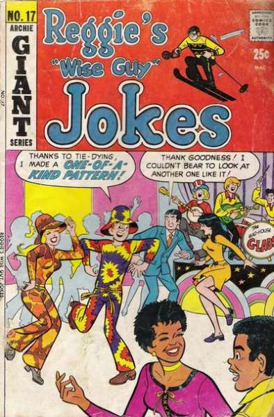 Reggie's Wise Guy Jokes #17 Comic Books - Covers, Scans, Photos  in Reggie's Wise Guy Jokes Comic Books - Covers, Scans, Gallery