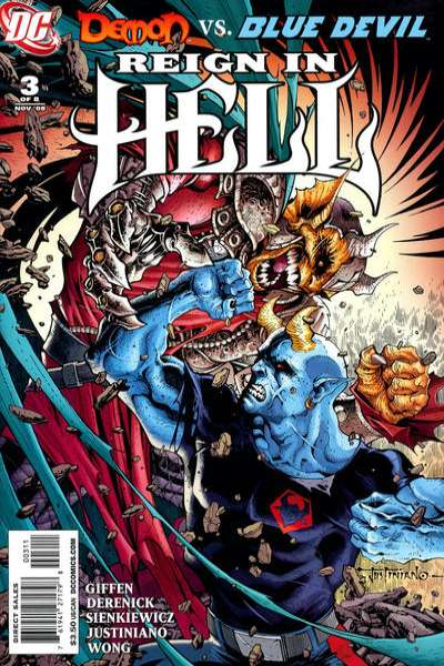 Reign in Hell #3 comic books - cover scans photos Reign in Hell #3 comic books - covers, picture gallery
