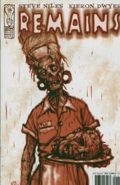 Remains #1 Comic Books - Covers, Scans, Photos  in Remains Comic Books - Covers, Scans, Gallery