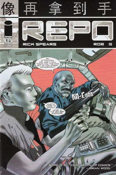 Repo comic books
