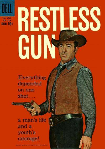 Restless Gun #3 comic books - cover scans photos Restless Gun #3 comic books - covers, picture gallery