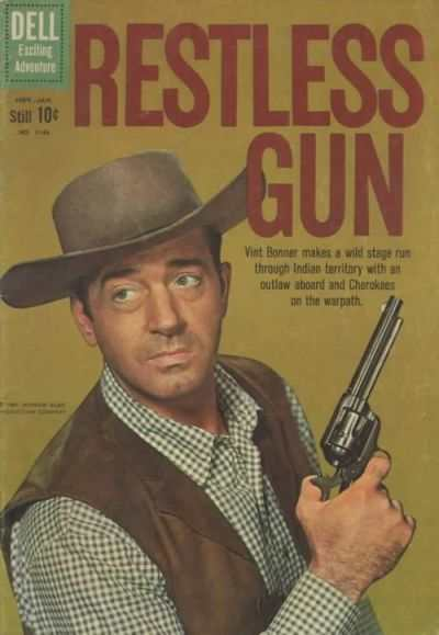 Restless Gun #5 comic books - cover scans photos Restless Gun #5 comic books - covers, picture gallery