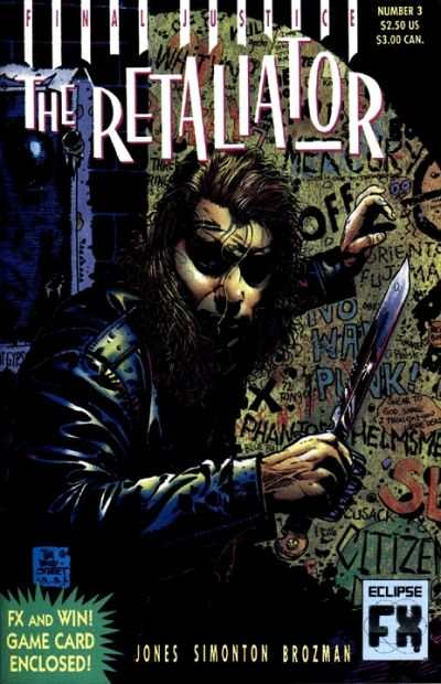 Retaliator #3 Comic Books - Covers, Scans, Photos  in Retaliator Comic Books - Covers, Scans, Gallery
