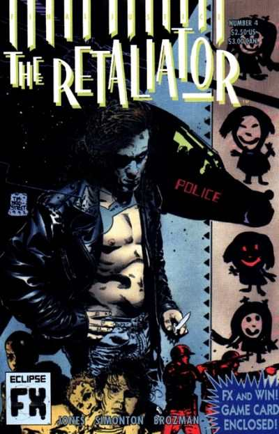 Retaliator #4 Comic Books - Covers, Scans, Photos  in Retaliator Comic Books - Covers, Scans, Gallery