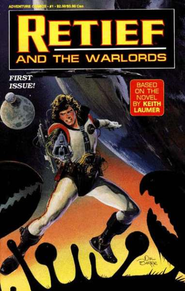 Retief and the Warlords #1 comic books for sale