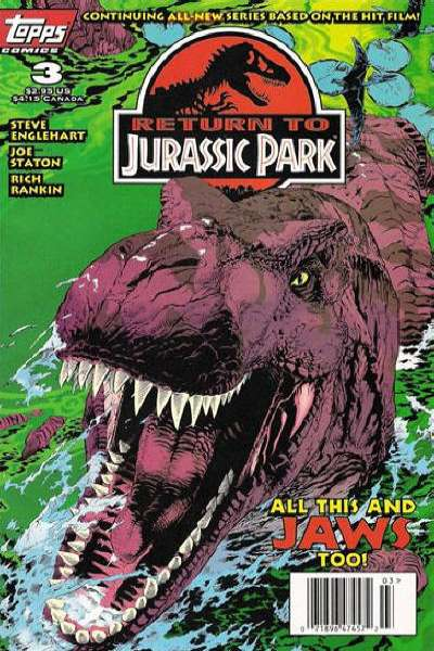 Return to Jurassic Park #3 Comic Books - Covers, Scans, Photos  in Return to Jurassic Park Comic Books - Covers, Scans, Gallery