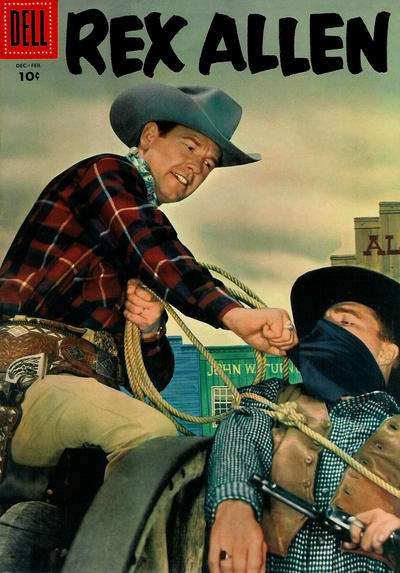 Rex Allen Comics #19 Comic Books - Covers, Scans, Photos  in Rex Allen Comics Comic Books - Covers, Scans, Gallery