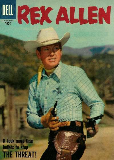 Rex Allen Comics #25 Comic Books - Covers, Scans, Photos  in Rex Allen Comics Comic Books - Covers, Scans, Gallery