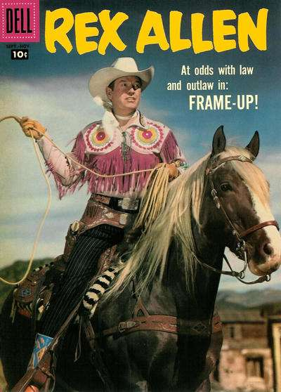 Rex Allen Comics #26 Comic Books - Covers, Scans, Photos  in Rex Allen Comics Comic Books - Covers, Scans, Gallery