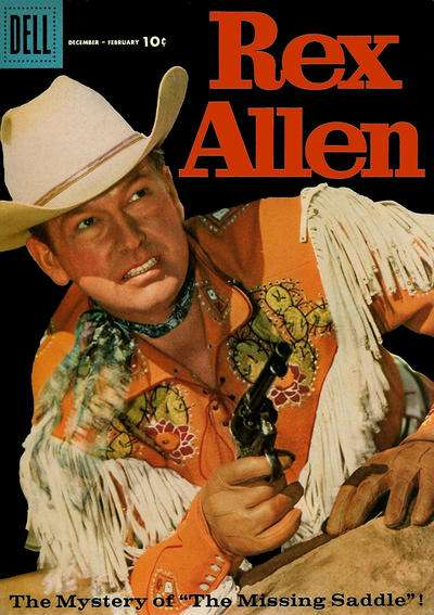 Rex Allen Comics #27 comic books for sale