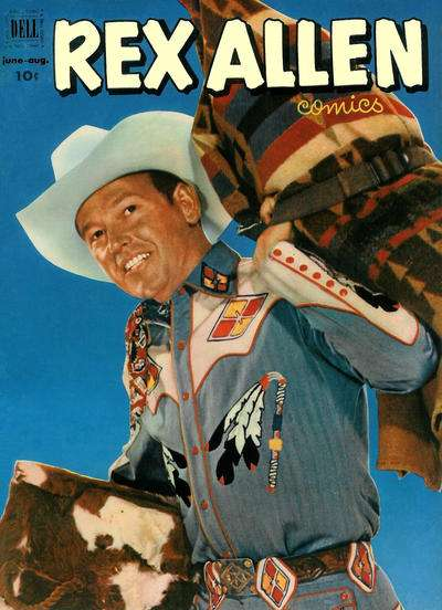 Rex Allen Comics #5 Comic Books - Covers, Scans, Photos  in Rex Allen Comics Comic Books - Covers, Scans, Gallery