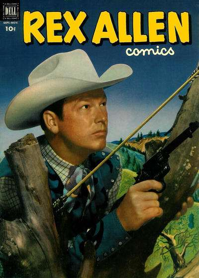 Rex Allen Comics #6 Comic Books - Covers, Scans, Photos  in Rex Allen Comics Comic Books - Covers, Scans, Gallery