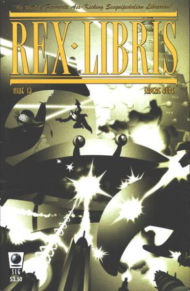 Rex Libris #13 Comic Books - Covers, Scans, Photos  in Rex Libris Comic Books - Covers, Scans, Gallery