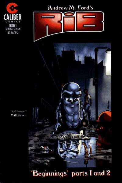Rib #1 Comic Books - Covers, Scans, Photos  in Rib Comic Books - Covers, Scans, Gallery