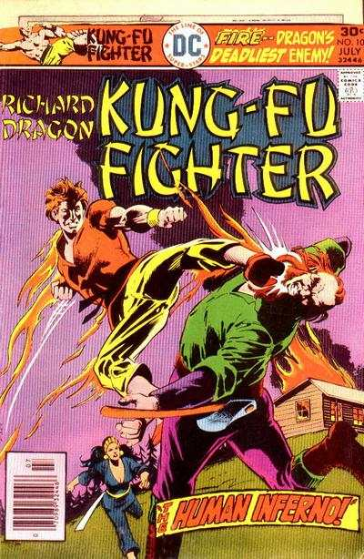 Richard Dragon: Kung-Fu Fighter #10 comic books - cover scans photos Richard Dragon: Kung-Fu Fighter #10 comic books - covers, picture gallery