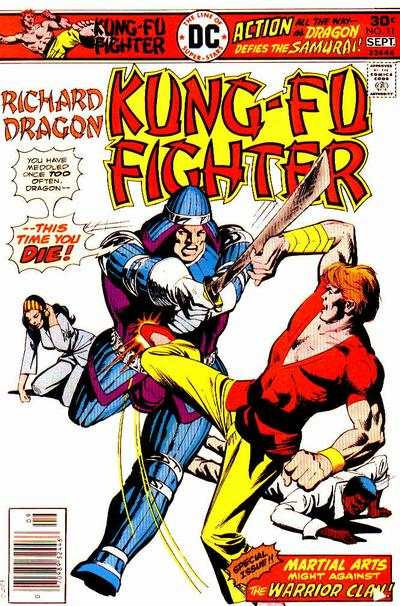 Richard Dragon: Kung-Fu Fighter #11 Comic Books - Covers, Scans, Photos  in Richard Dragon: Kung-Fu Fighter Comic Books - Covers, Scans, Gallery