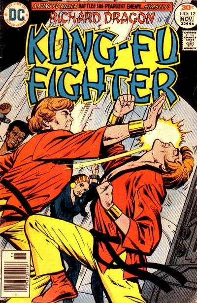 Richard Dragon: Kung-Fu Fighter #12 comic books for sale