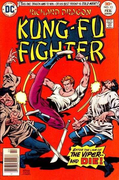 Richard Dragon: Kung-Fu Fighter #13 comic books - cover scans photos Richard Dragon: Kung-Fu Fighter #13 comic books - covers, picture gallery