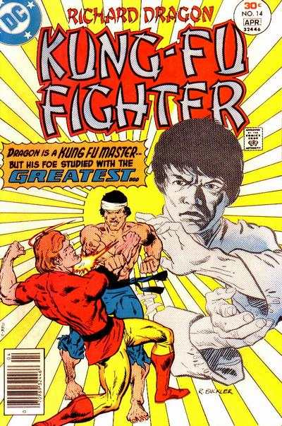 Richard Dragon: Kung-Fu Fighter #14 comic books - cover scans photos Richard Dragon: Kung-Fu Fighter #14 comic books - covers, picture gallery