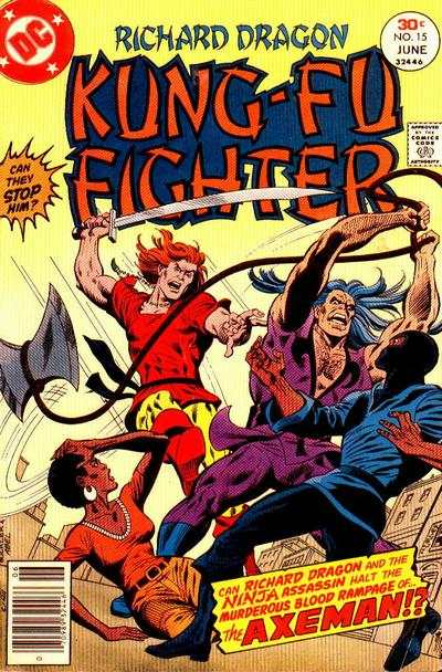 Richard Dragon: Kung-Fu Fighter #15 comic books for sale