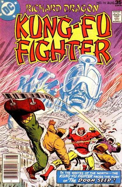 Richard Dragon: Kung-Fu Fighter #16 comic books - cover scans photos Richard Dragon: Kung-Fu Fighter #16 comic books - covers, picture gallery
