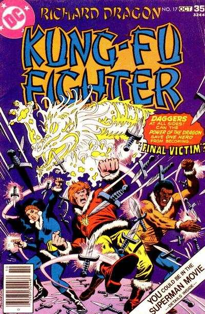 Richard Dragon: Kung-Fu Fighter #17 comic books - cover scans photos Richard Dragon: Kung-Fu Fighter #17 comic books - covers, picture gallery