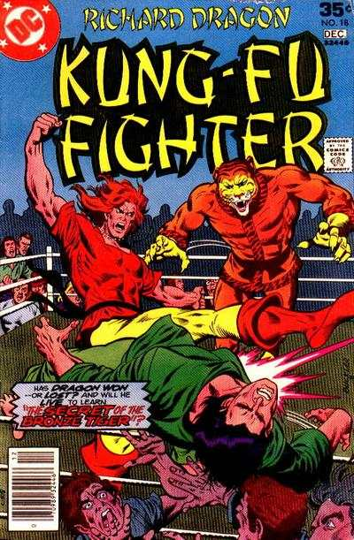 Richard Dragon: Kung-Fu Fighter #18 comic books for sale