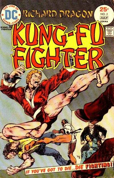 Richard Dragon: Kung-Fu Fighter #2 comic books - cover scans photos Richard Dragon: Kung-Fu Fighter #2 comic books - covers, picture gallery